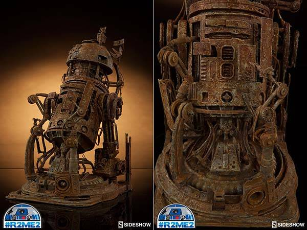 Sideshow's R2-ME2 Showing Midified R2-D2 Droids