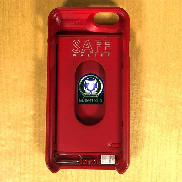 Safe Wallet iPhone 6 Case Holds Your Phone and Essentials