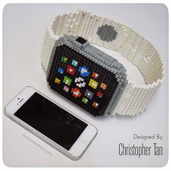 The Apple Watch Built with 800 Nanoblocks