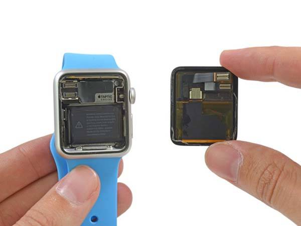 The Apple Watch Teardown Reveals Replaceable Battery
