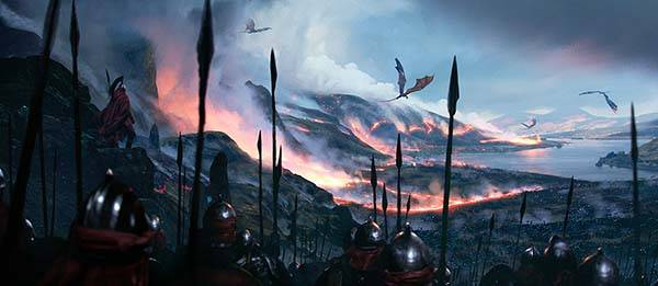 The Awesome Illustrations for The World of Ice and Fire