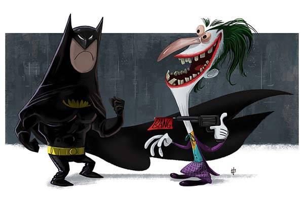 The Evolution of Batman Art Prints