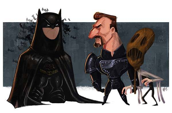 The Evolution of Batman Art Prints