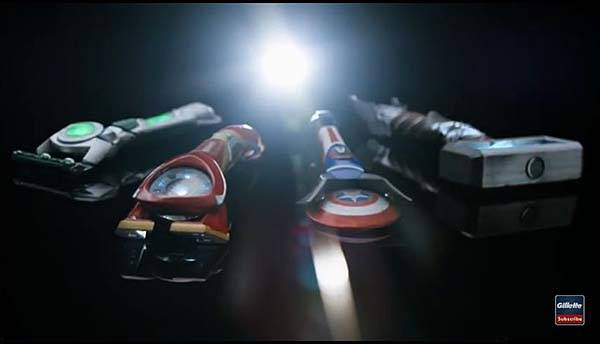 The Gillette Razors Inspired by The Avengers