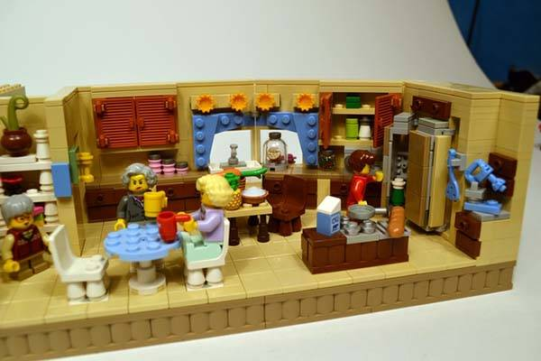 Lego Friends Kitchen Set