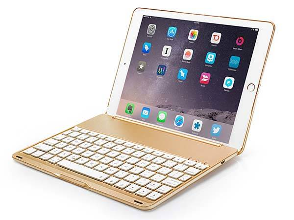 The Illuminated iPad Air 2 Keyboard Case