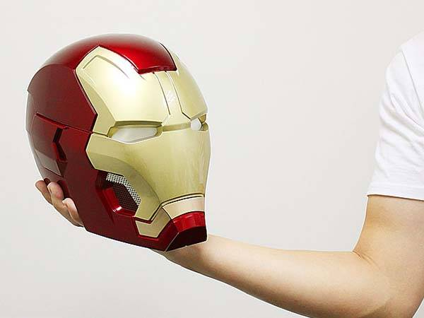 The Iron Man Helmet Bluetooth Speaker