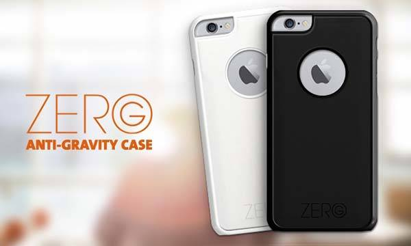 Zero G iPhone 6 Plus and iPhone 6 Cases Allows to be Sticked to Any Smooth Surface
