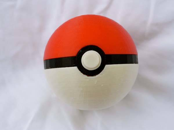 3D Printed Pokeball Replica