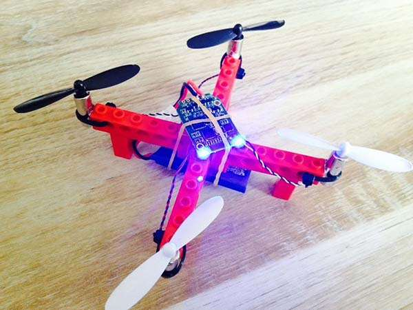 Build Your Own LEGO Quadcopter
