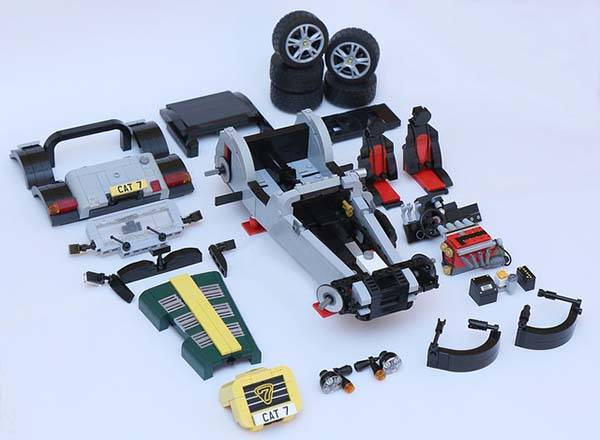 Caterham Super Seven LEGO Set