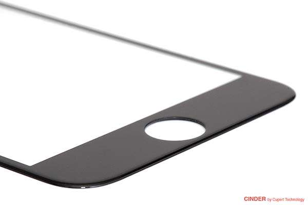 Cinder Curved Gorilla Glass Screen Protector for iPhone 6/6 Plus