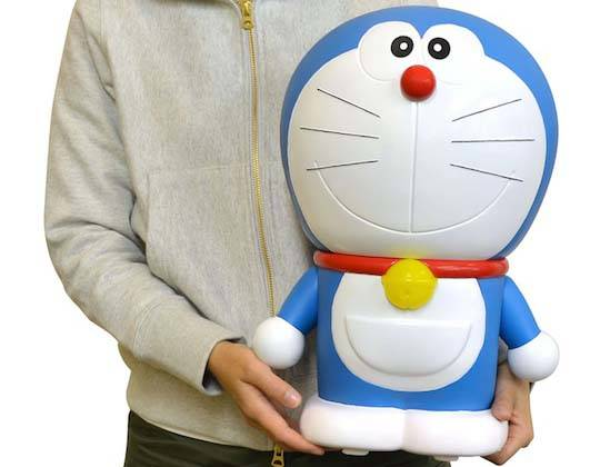 Doraemon Giant Speaker with a Flashing Cat Bell