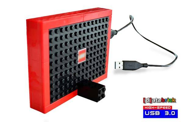 The 1TB USB 3.0 External Hard Drive Built with LEGO Bricks