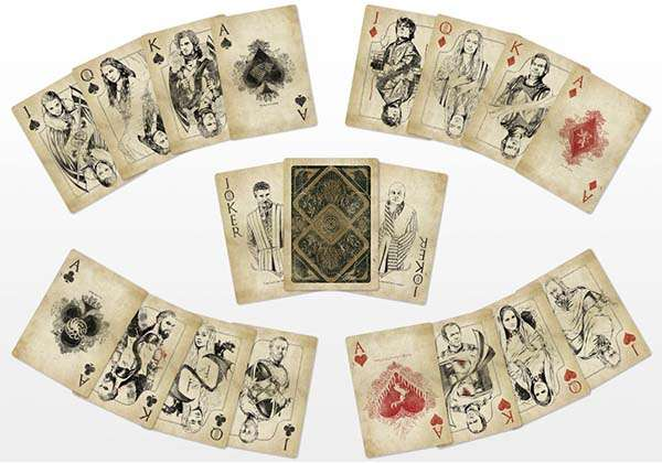 Game of Thrones Inspired Playing Cards