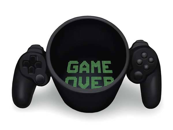 Game Over Mug Lets You Enjoy Coffee Just Like Playing Games
