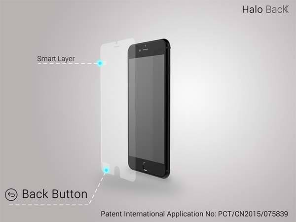 Halo Back Smart Screen Protector for iPhone 6/6 Plus