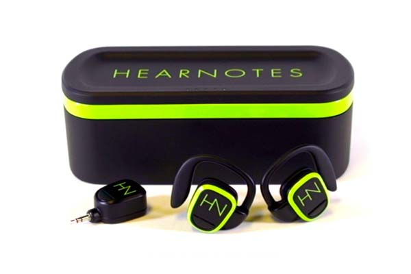 HearNotes Wireless Earphones Deliver Uncompressed Stereo Audio