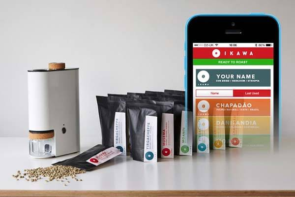 IKAWA App-Enabled Home Coffee Roaster