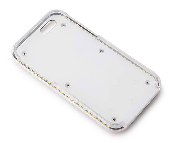 Illumination iPhone 55s and iPhone 6 Case with Built-In LED Light Rows