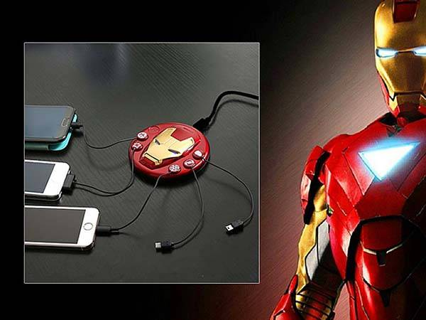 The Iron Man 3 Edition MagHub Charging Station