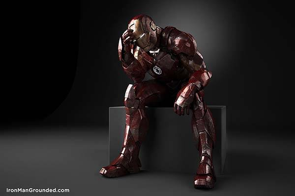 Iron Man Grounded photography series