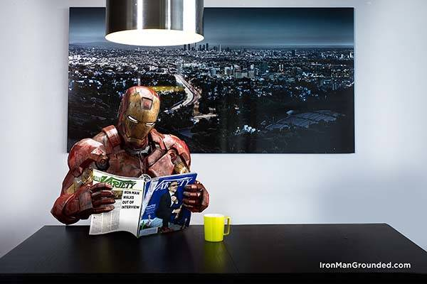 Iron Man Grounded Shows The Superhero S Daily Life With