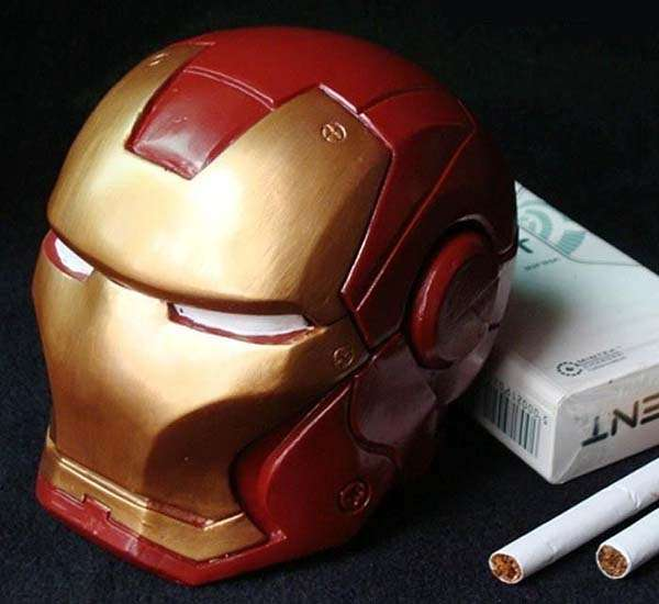 Iron Man Helmet Inspired Ashtray