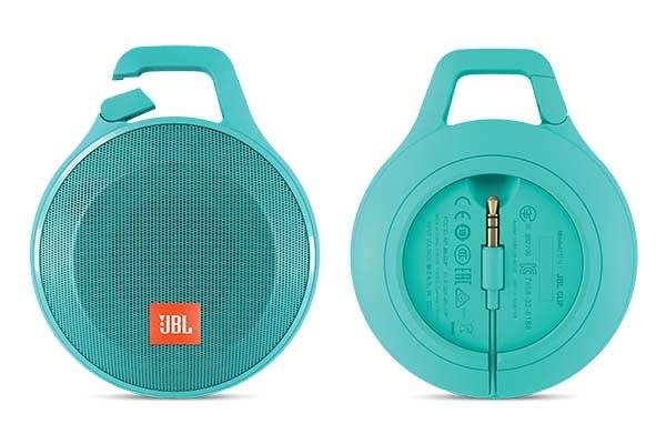 JBL Clip Plus Splashproof Portable Bluetooth Speaker