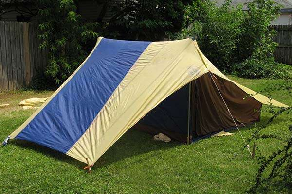 Make Your Own Recycled Tent