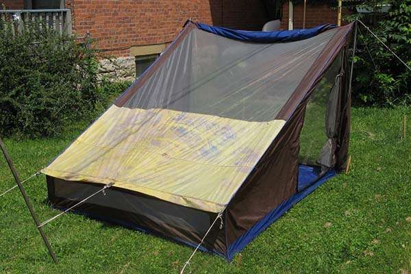 Make Your Own Recycled Tent Gadgetsin