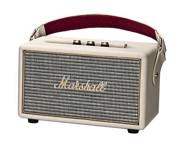 Marshall Kilburn Portable Bluetooth Speaker Following Its Classic Design