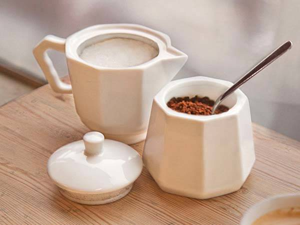 Moka Ceramic Coffee Jar