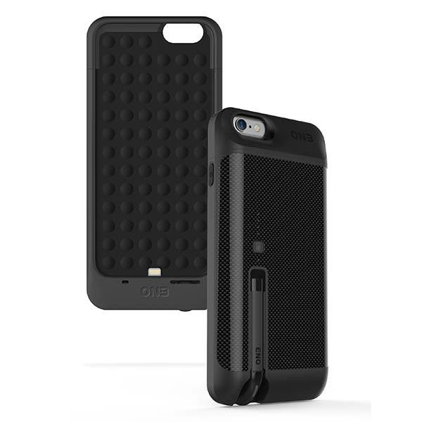 PowerCliq iPhone 6 Battery Case with a Detachable Bluetooth Headset