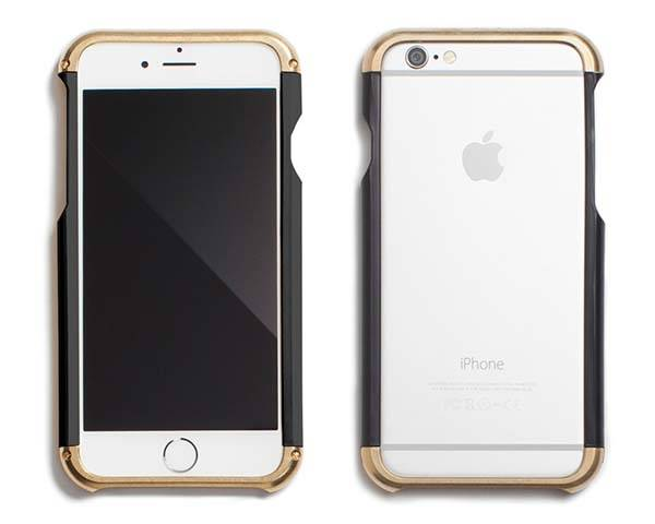 Revisit Brass Bumper iPhone 6 and iPhone 6 Plus Cases