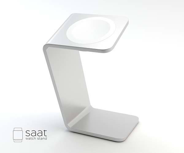 Saat Handmade Apple Watch Charging Stand