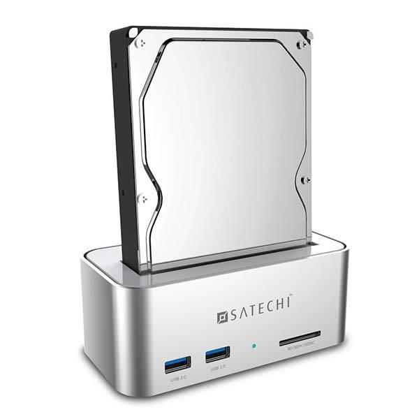 Satechi Aluminum USB 3.0 HDD SSD Docking Station