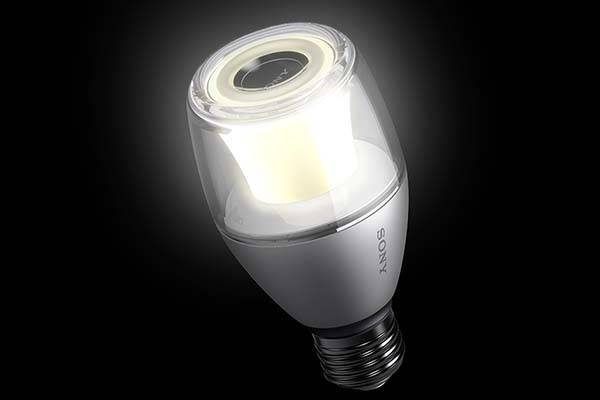 Sony LSPX-100E26J LED Bulb with Integrated Bluetooth Speaker