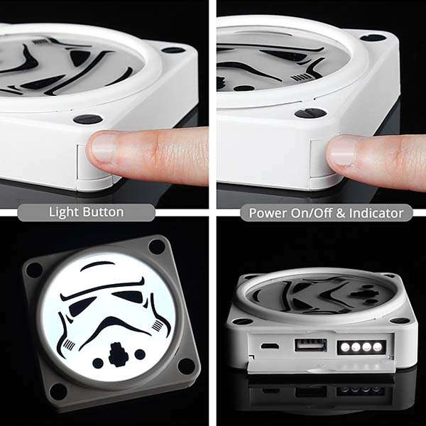 Star Wars Glowing Power Bank