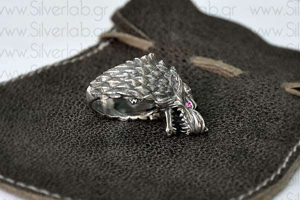The Handcrafted Sterling Silver Ring Inspired by House of Stark from Game of Throne