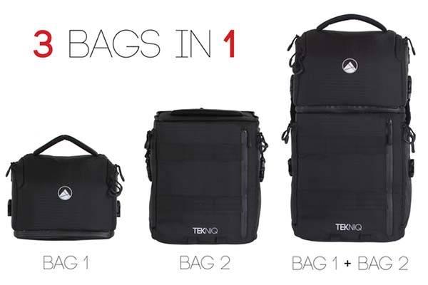 TEKNIQ Modular Camera Bag