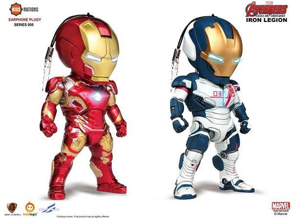 The Avengers Age of Ultron Earphone Plugy Series
