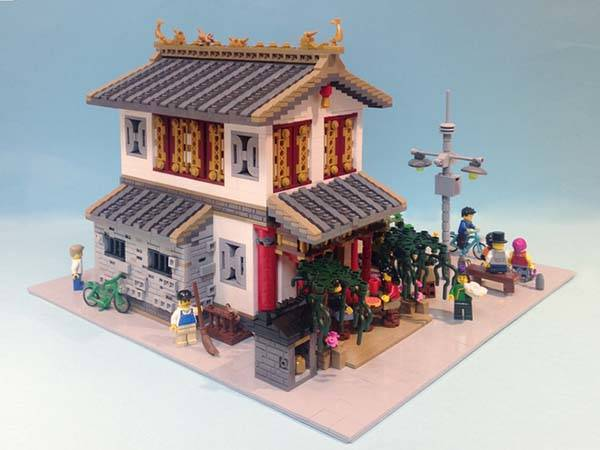 The Chinese Dim Sun Restaurant LEGO Set | Gadgetsin