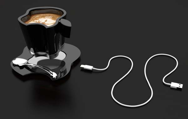The Concept Coffee Mug is Designed for Apple