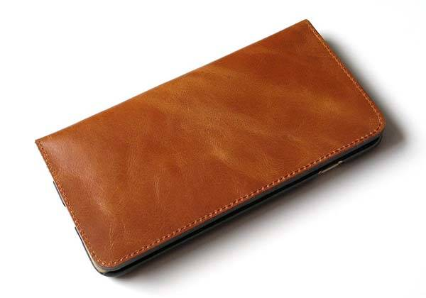 The Handmade Wallet Leather iPhone 6 and iPhone 6 Plus Cases