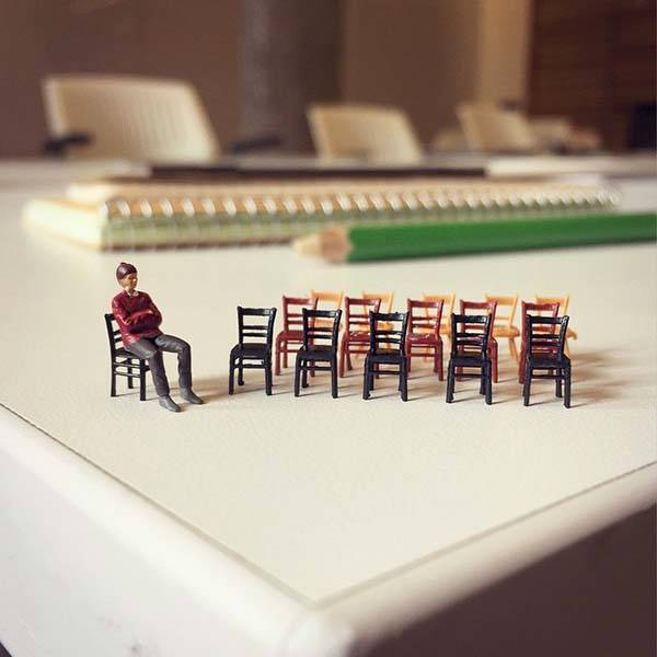The Lilliput Photoes Shows the Life at an Ad Agency