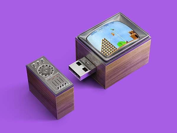 The Memories Stick USB Flash Drives Inspired by Retro Game Consoles