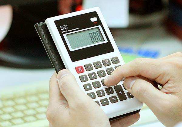 Old-School Calculator 6000mAh Power Bank