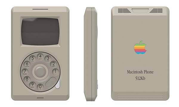 The Old-School Macintosh Inspired Concept Phone