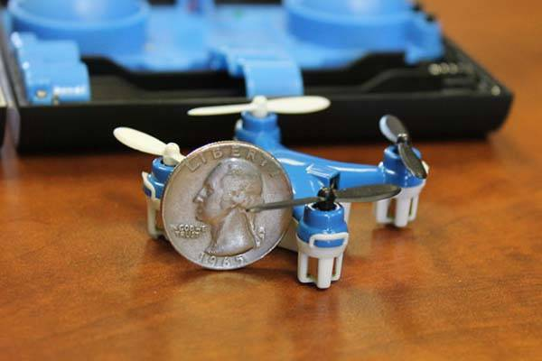 The Wallet Drone Quadcopter Fits in Your Pocket